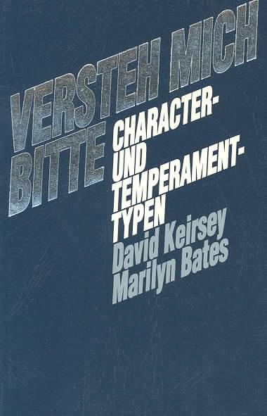 Versteh Mich Bitte By Keirsey, David W.